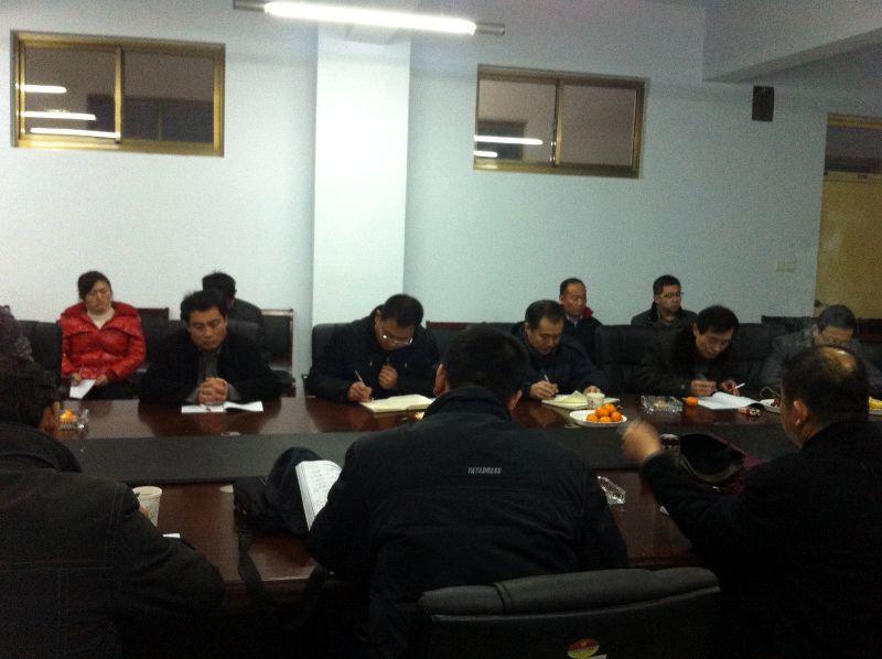 枣庄市教研室来补习学校检查指导工作